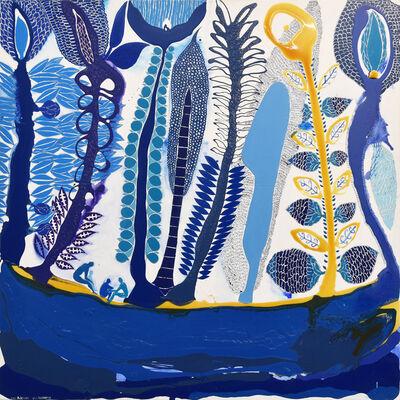 John Pule, 'Blue Residence', 2019