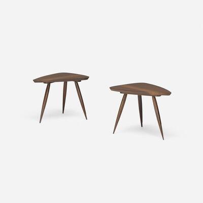 Phillip Lloyd Powell, 'Occasional tables, pair', c. 1958