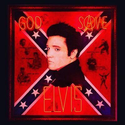 Illuminati Neon, 'God Save Elvis', 2020