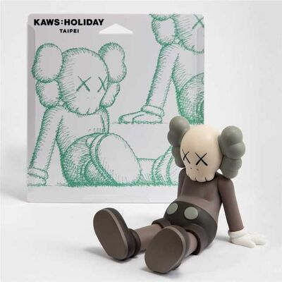 KAWS, 'Holiday (Brown)', 2019