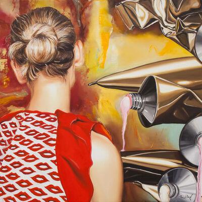 Heiner Meyer, 'Infront of Richter', 2019