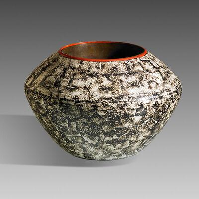 Jean Dunand, 'Fine vase, France', 1920s