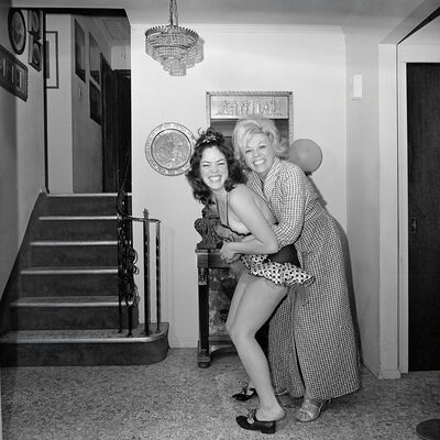 Meryl Meisler, 'Self-Portrait, Tap Dancing with Mom, North Massapequa, NY. January 1975', 2016