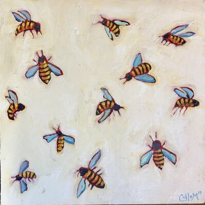 Tim Collom, 'Twelve Bees', 2019