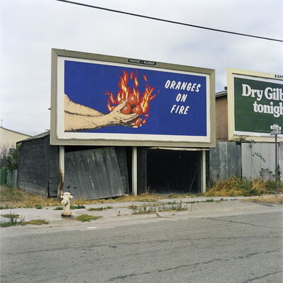 Larry Sultan and Mike Mandel, 'Oranges On Fire', 1975/2014