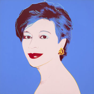 Andy Warhol, 'Portrait of Dorothy Blau-Blue', 1983