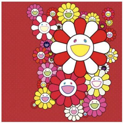 Takashi Murakami, 'FLOWERS RED VELVET', 2016