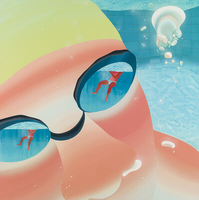 Yang-Tsung Fan, 'Swimming pool series-Tiny bubble', 2013