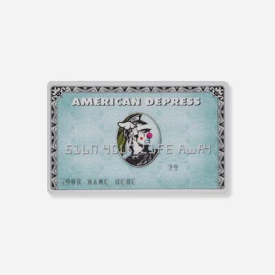 D*Face, 'American Depress', 2008