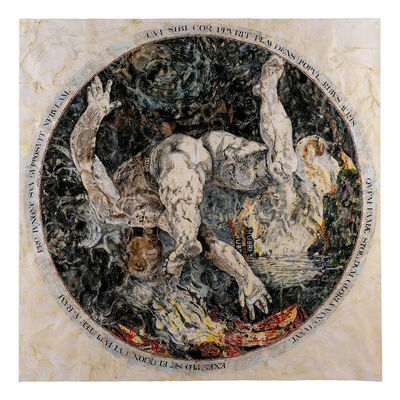 Margaret Lawless, 'Ixion, after Hendrick Goltzius', ca. 2021