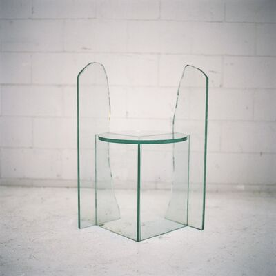 Guillermo Santomà, 'Mirage Glass Chair 1', 2016
