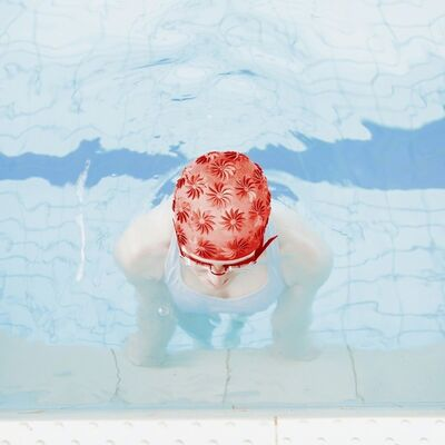 Maria Svarbova, 'Red Head', 2017