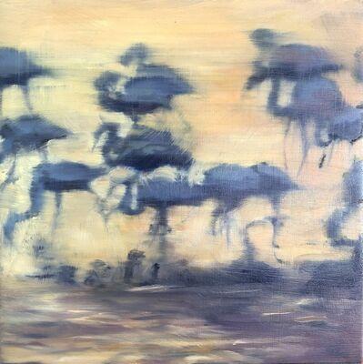 Katherine Bull, 'Flamingos', 2020