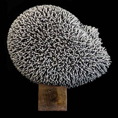 Dale Dunning, 'Soritical Head Silver', 2011