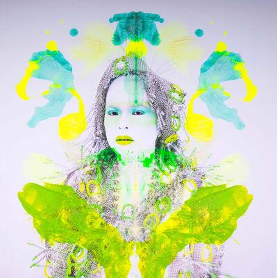 Kimiko Yoshida, 'Rorschach Yoshida LXXXVI (Mona Lisa)', 2018