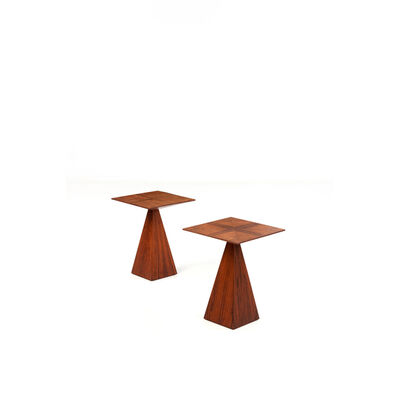 Harvey Probber, 'Pair of Side Tables', 1955