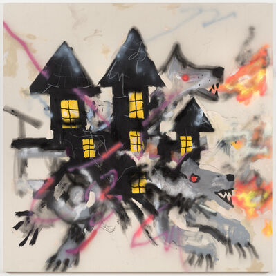 Robert Nava, 'Haunted Wolf House', 2019