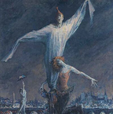 Sergei Chepik, 'Nijinsky, God's Clown', 1995