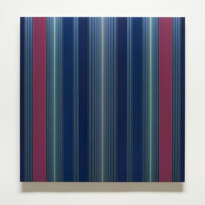 Brian Wills, 'Untitled (Navy blue vertical horizon)', 2015