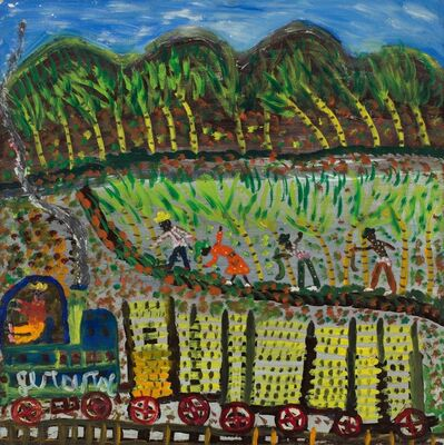 Gerard Fortune, 'Untitled (Train Passing Sugar Cane Fields)', ca. 1970's