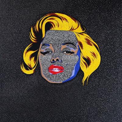 Philip Tsiaras, 'Black Marilyn', 2019