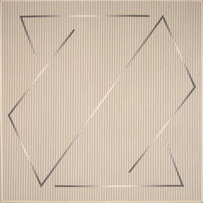 Julian Stanczak, 'Forming in White 3', 1991-1992