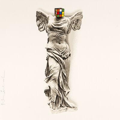 Mr. Brainwash, 'Victory Angel - Rubik's Portfolio ', 2020
