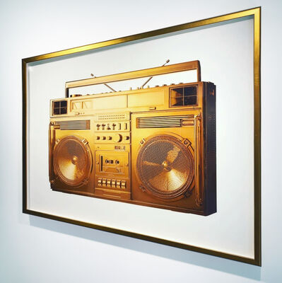 Lyle Owerko, 'Golden Boombox / Sculpture Series - image version.001 (framed)', 2018