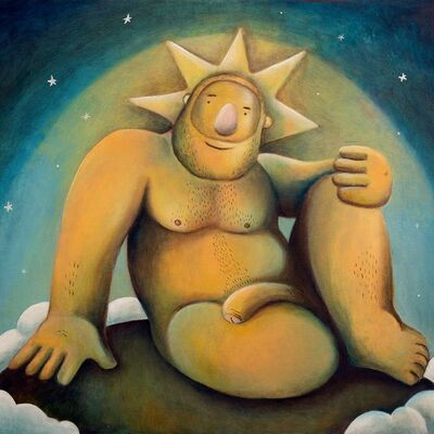 Carlos Rodriguez, 'A Sun / A Radiant Man', 2021