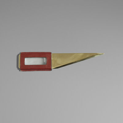 Carl Aubock III, 'Rare Letter Opener With Magnifying Glass', c. 1950
