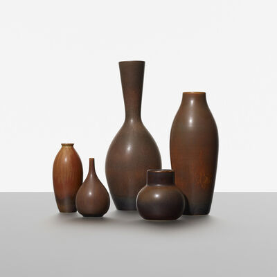 Carl Harry Stålhane, 'Collection of Five Vases', c. 1950