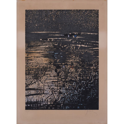 Mario Prassinos, 'L'étang', 1968
