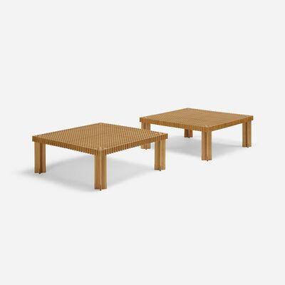 Gianfranco Frattini, 'Kyoto coffee tables, pair', 1974