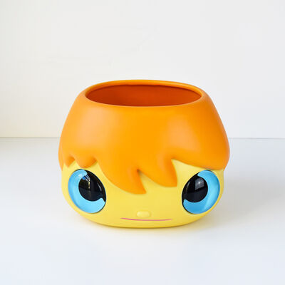 Javier Calleja, 'Pop Top (Planter pot | Orange)', 2020