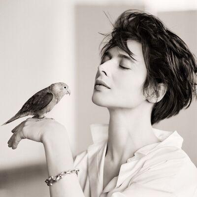 Matthew Rolston, 'Isabella Rosselini, Bird, New York', 1988