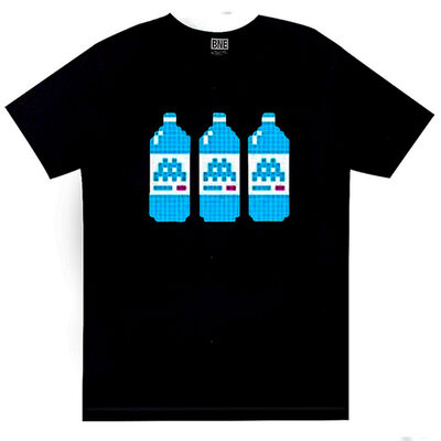 Invader, 'BNE T-Shirt (Black)', 2014