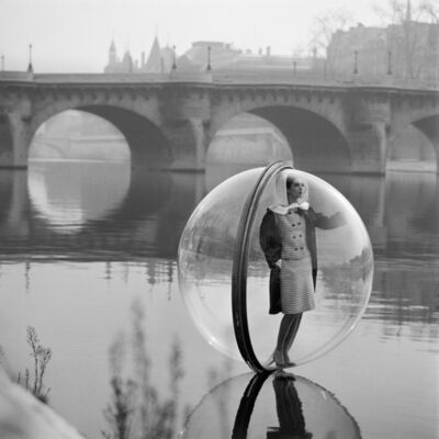 Melvin Sokolsky, 'Bubble on Seine', 1965