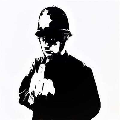 Banksy, 'FUNK Tha Police', 2015