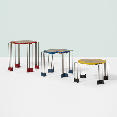 Gaetano Pesce, 'Triple Play nesting tables, set of three', c. 1995
