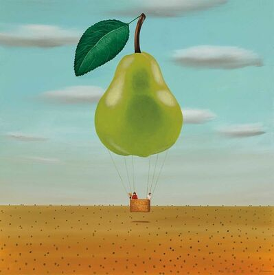 Robert Deyber, 'Fruit Flies V (pear) ', 2016