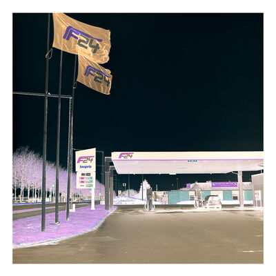 Christel Pilkaer Thomsen, 'Jimmy Gas Station II', 2019