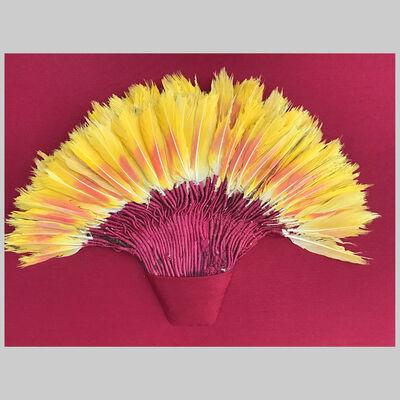 Nazca Culture, 'Feather Headdress / Fan', C. 400