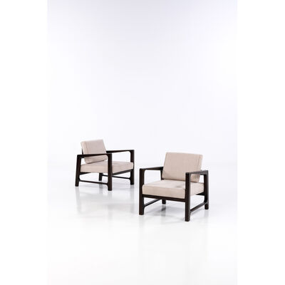 Harvey Probber, 'Pair of Easy Chairs', 1960