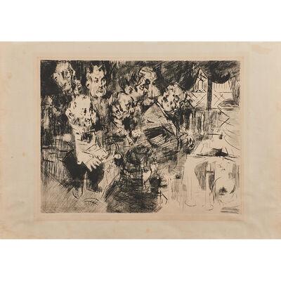 Jack Levine, 'Gangster's Funeral', 1965