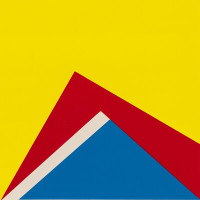 Winfred Gaul, 'Untitled, blue red yellow', ca. 1971