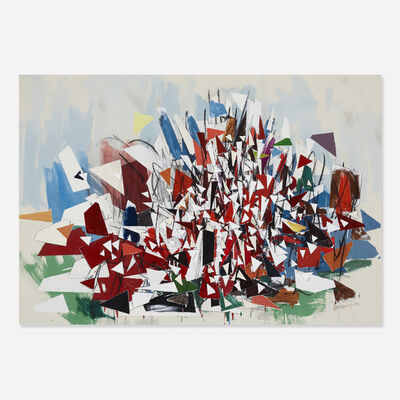 Robert Goodnough, 'Abstract Movement (R-6)', 1989