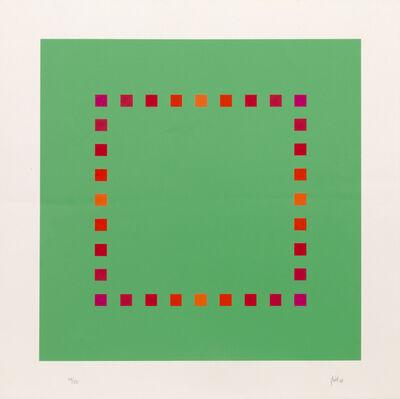 Jakob Bill, 'Green Square', 1968