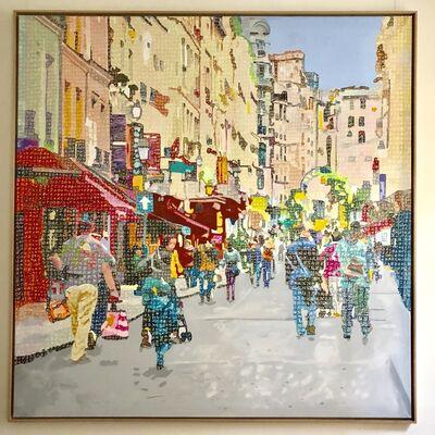 Alioune Diagne, 'Rue parisienne', 2018
