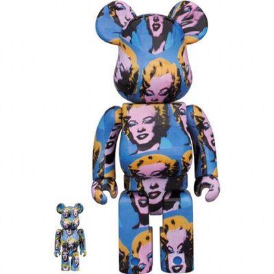 BE@RBRICK, 'BE@RBRICK x AndyWahal x Marilyn Monroe (100%&400%)', 2020