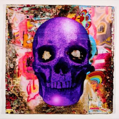 Bram Reijnders, 'Purple Scull', 2019